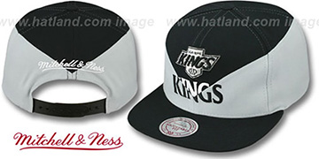 Kings 'AMPLIFY DIAMOND SNAPBACK' Black-Grey Hat by Mitchell and Ness