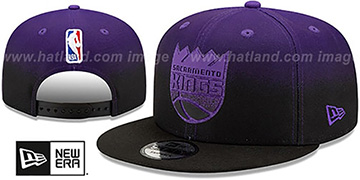 Kings BACK HALF FADE SNAPBACK Hat by New Era