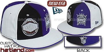 Kings CONFERENCE DOUBLE WHAMMY Fitted Hat by New Era