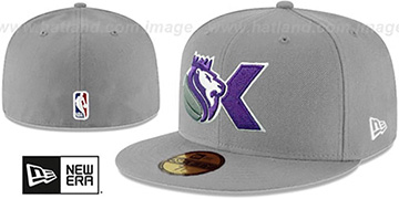 Kings DECEPTORED Grey Fitted Hat by New Era