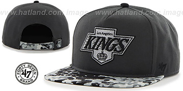 Kings 'DRYTOP STRAPBACK' Grey Hat by Twins 47 Brand