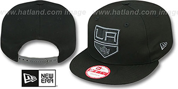 Kings 'FADEOUT SNAPBACK' Black-Grey Hat by New Era