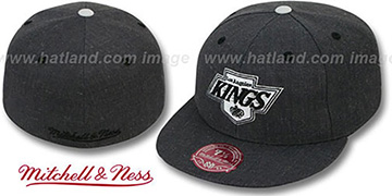 Kings 'GREY HEDGEHOG' Fitted Hat by Mitchell & Ness