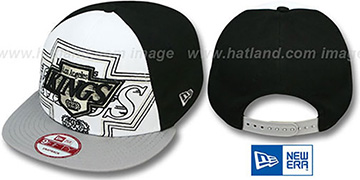 Kings 'LITTLE-BIG POP SNAPBACK' White-Black-Grey Hat by New Era