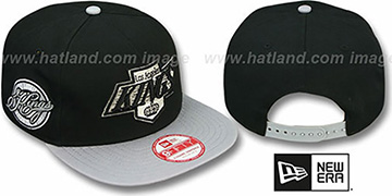 Kings 'SAID SNAPBACK' Black-Grey Hat by New Era