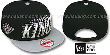 Kings 'SAILTIP SNAPBACK' Black-Grey Hat by New Era