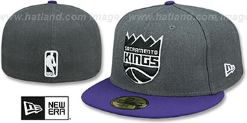 Kings SHADER MELT-2 Grey-Purple Fitted Hat by New Era