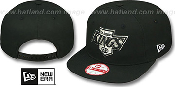 Kings 'TEAM-LOGO SOCAL SNAPBACK' Black Hat by New Era