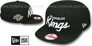 Kings 'TEAM-SCRIPT SOCAL SNAPBACK' Black Hat by New Era