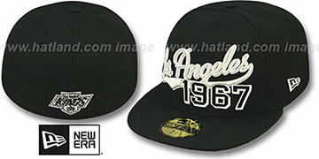 Kings 'THE BEGINNING' Black Fitted Hat by New Era