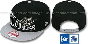 Kings VINTAGE STOKED SNAPBACK Black-Grey Hat by New Era