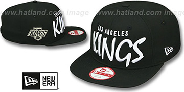 Kings 'XL-MATISSE SOCAL SNAPBACK' Black Hat by New Era