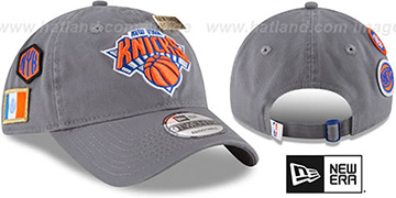 Knicks 2018 NBA DRAFT STRAPBACK Grey Hat by New Era