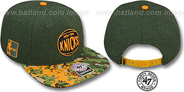 Knicks 'COLONEL POTTER' Adjustable Hat by Twins 47 Brand