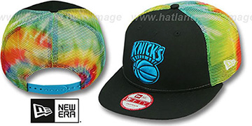 Knicks 'MESH TYE-DYE SNAPBACK' Hat by New Era