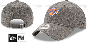 Knicks 'MICRO-TEAM STRAPBACK' Grey Hat by New Era