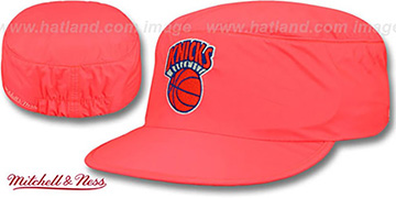 Knicks NEON PAINTER Orange Hat by Mitchell and Ness