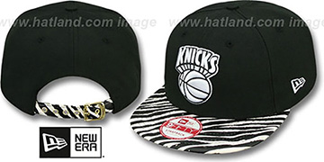 Knicks 'OSTRICH-ZEBRA STRAPBACK' Hat by New Era