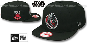 Kylo Ren 'RETROFLECT SNAPBACK' Black Hat by New Era