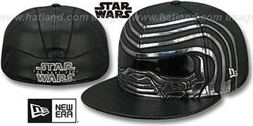 Kylo Ren 'THE LAST JEDI CHARACTER FACE' Fitted Hat by New Era