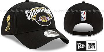 Lakers '2020 NBA CHAMPS LOCKER ROOM STRAPBACK' Hat by New Era