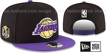 Lakers 2020 NBA CHAMPS SIDE PATCH SNAPBACK Hat by New Era