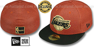 Lakers 'BASKET-BALLIN' Fitted Hat by New Era