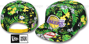 Lakers 'BLOOM SNAPBACK' Hat by New Era