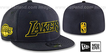Lakers 'CITY-SERIES' Charcoal Fitted Hat by New Era