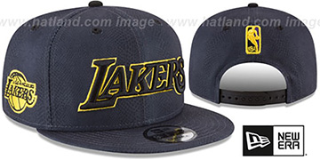 Lakers 'CITY-SERIES SNAPBACK' Charcoal Hat by New Era