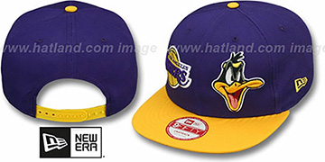 Lakers 'DOUBLE-WHAM DAFFY DUCK SNAPBACK' Hat by New Era