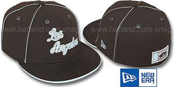 Lakers HW CHOCOLATE DaBu Fitted Hat by New Era
