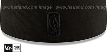 Lakers IRIDESCENT COLOR-SHIFT Black Fitted Hat by New Era