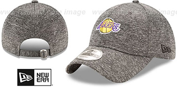 Lakers 'MICRO-TEAM STRAPBACK' Grey Hat by New Era