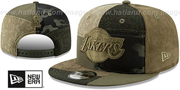 Lakers PATCHWORK PREMIUM SNAPBACK Hat by New Era