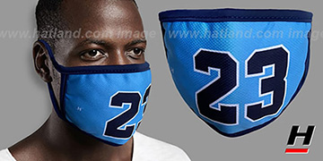 LAST DANCE 23 Sky-Navy Washable Fashion Mask by Hatland.com