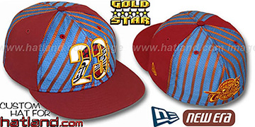 Lebron James ELECTRIFIED Fitted Hat by New Era