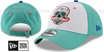 Legends COPA STRAPBACK White-Mint Fitted Hat by New Era