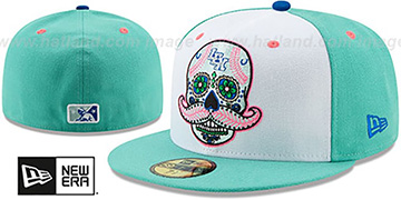 Legends COPA White-Mint Fitted Hat by New Era
