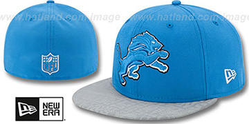 Lions '2014 NFL DRAFT' Blue Fitted Hat by New Era
