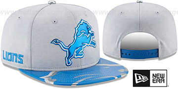 Lions '2017 NFL ONSTAGE SNAPBACK' Hat by New Era