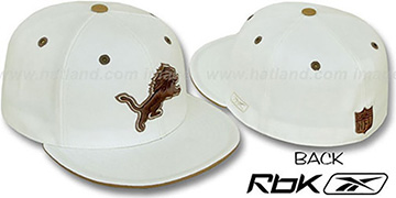 Lions 'KOLORS' Bone Fitted Hat by Reebok