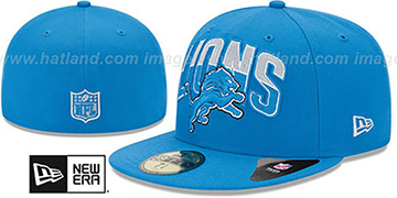 Lions NFL 2013 DRAFT Blue 59FIFTY Fitted Hat by New Era