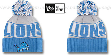 Lions 'REP-UR-TEAM' Knit Beanie Hat by New Era