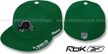 Lions 'St Patricks Day' Green Fitted Hat by Reebok