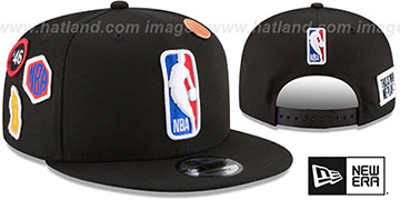 Logoman '2018 NBA DRAFT SNAPBACK' Black Hat by New Era