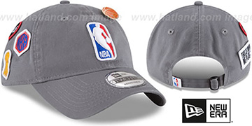 Logoman 2018 NBA DRAFT STRAPBACK Grey Hat by New Era