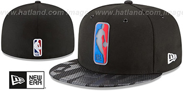 Logoman '2018 NBA ONCOURT ALL-STAR' Black Fitted Hat by New Era