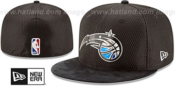 Magic '2017 ONCOURT DRAFT' Black Fitted Hat by New Era