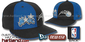 Magic DOUBLE WHAMMY Royal-Black Fitted Hat